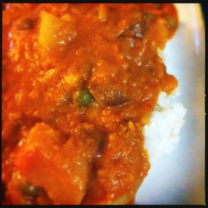 Red Kuri red curry
