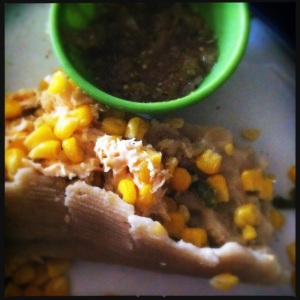 cheesy corn tamales