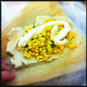 cheesey corn tamales