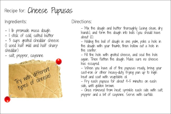 pupusas recipe card