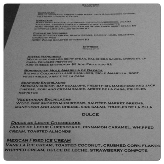 sdrw menu