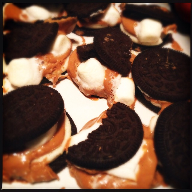 finished s'mOreos