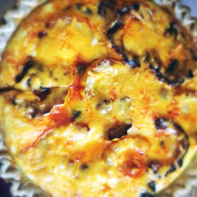 spicy fall quiche