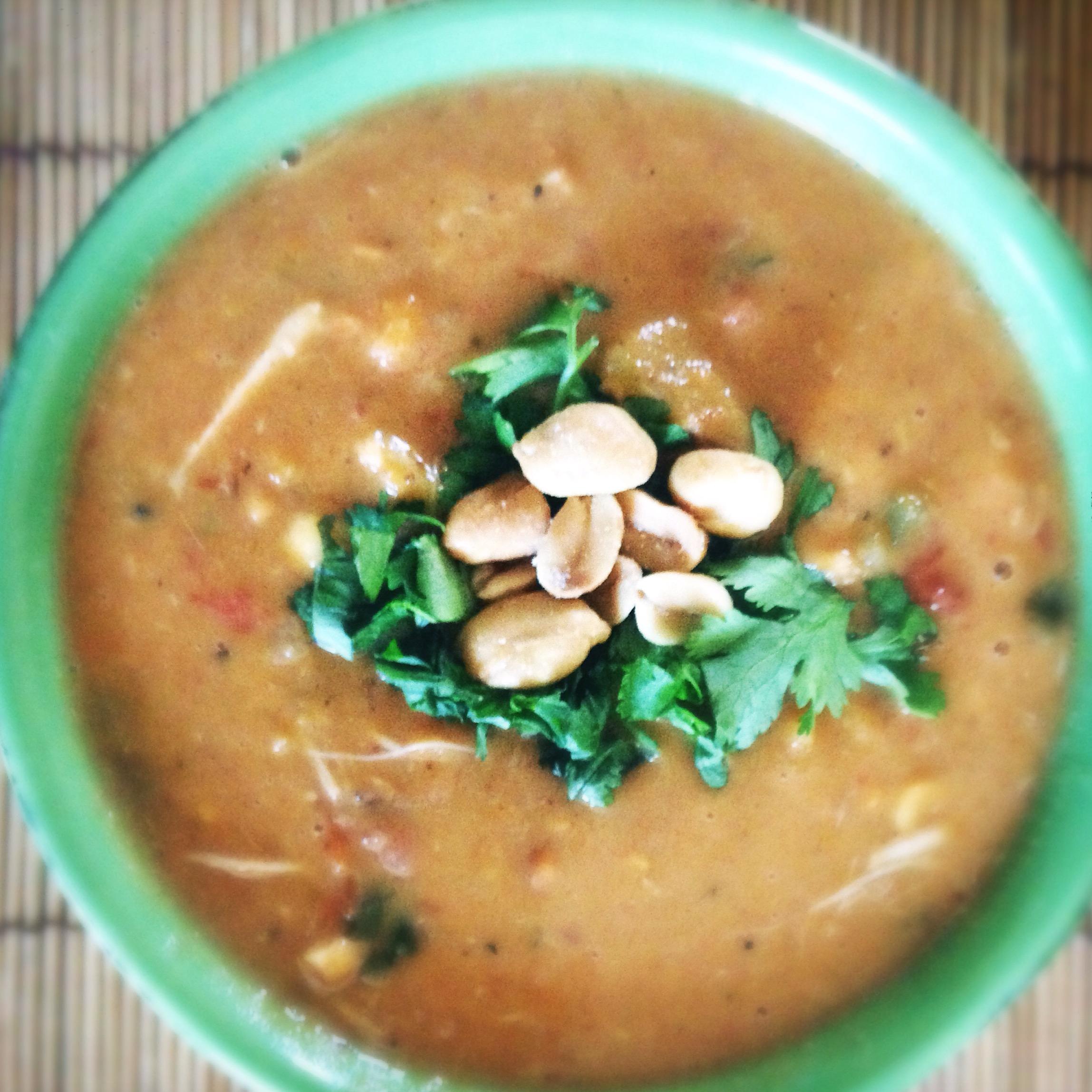African Chicken Peanut Stew | Starbright's Kitchen