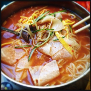 cold noodles