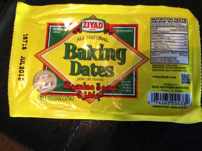baking dates